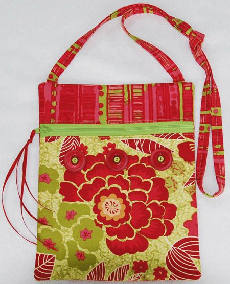 Runaround Bag Pattern Gets A Groovy New Cover Girl    Lazies, On Mon