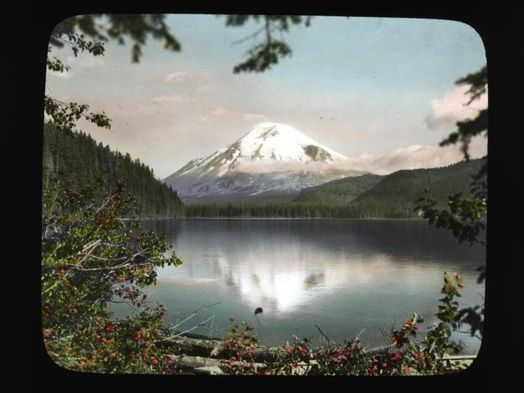 Color photos of the Pacific Northwest in the 1920s.