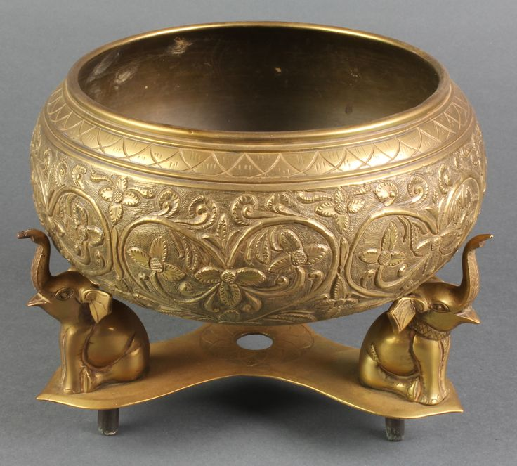 indian brass bowl - Buscar con Google
