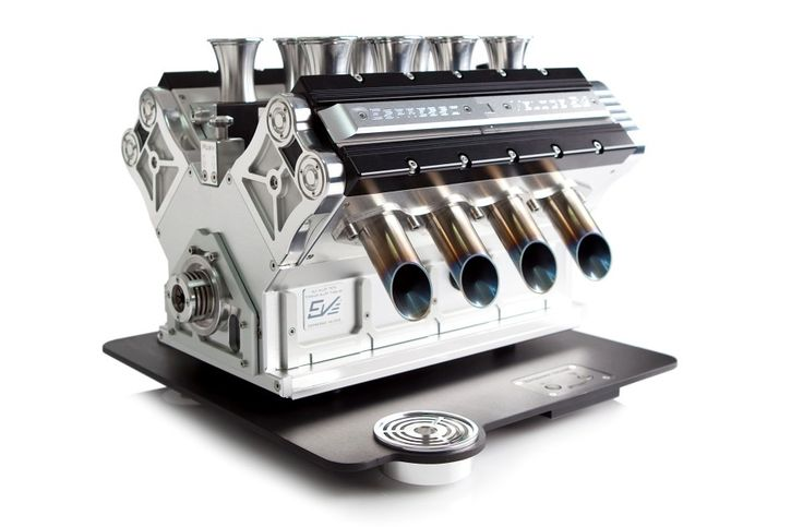 The V8 Espresso machine by Espresso Veloce. Beautifully engineered and also available as a V10 and V12 espresso machine.