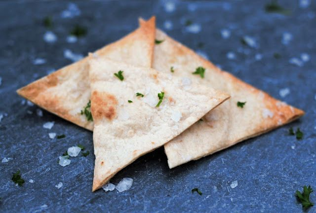 Ovnsbakte Tortillachips