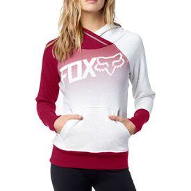 Fox Racing Women's Confirm Hooded Sweatshirt       #jacket #snow #clothes #fashion #pink #white #pockets #hoodie #fall #winter #fox #foxracing
