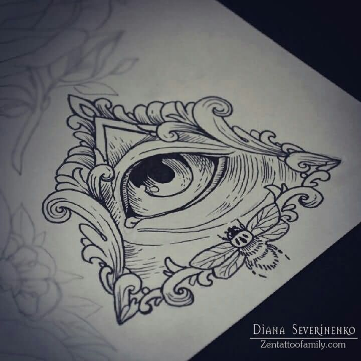 83 Awesome Y G Tattoos Cool Tattoo Designs: 25+ Best Ideas About Triangle Eye On Pinterest
