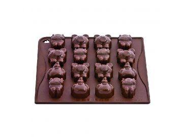 Forma na čokoládu Farm (zvířata z farmy)