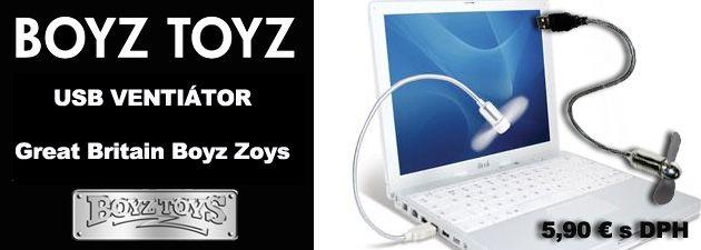 USB ventilator - darceky 5,90 € http://www.coolish.sk