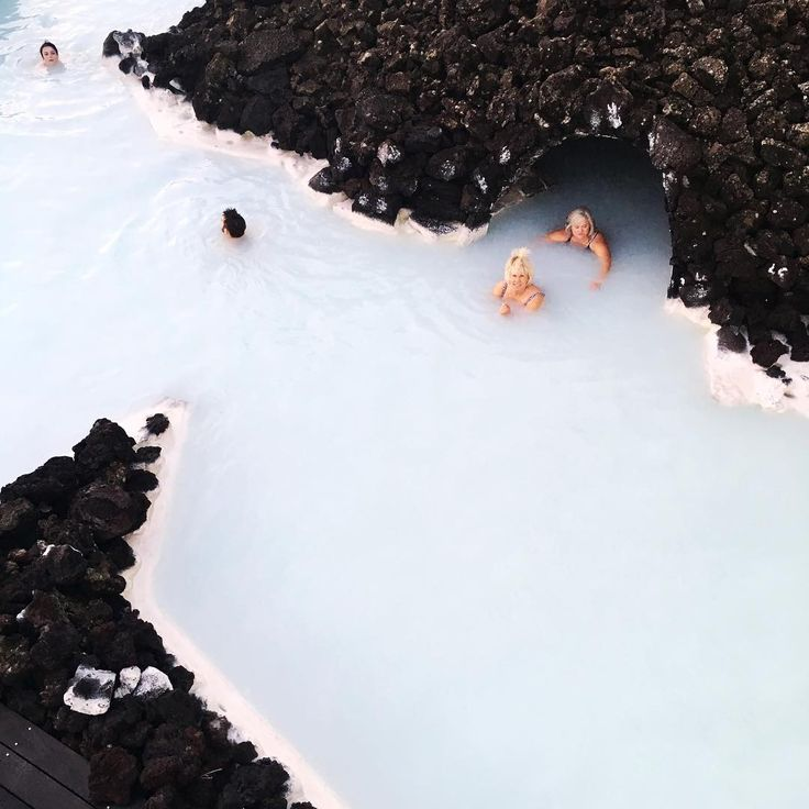 Explore the secrets in the lava cave #BlueLagoon #Iceland - Photo by @ruerodier