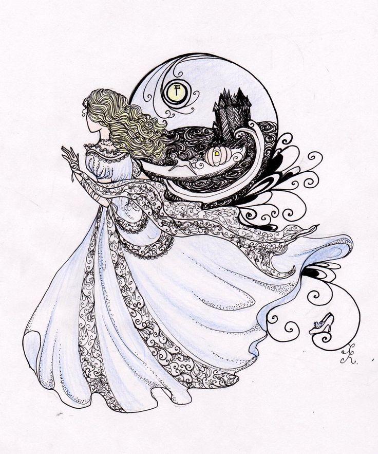 Cinderella by La-Chapeliere-Folle.deviantart.com on @deviantART