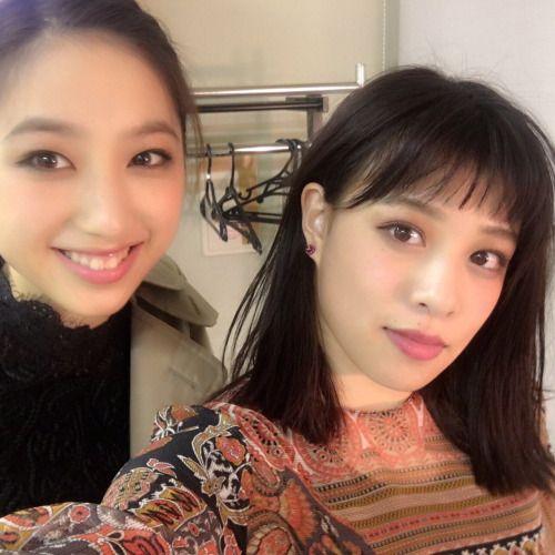 Nozomi & Mio // Flower twitter - 02.12.2016