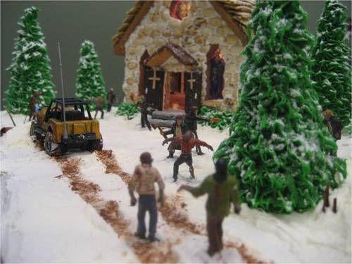 zombie apocalypse gingerbread house