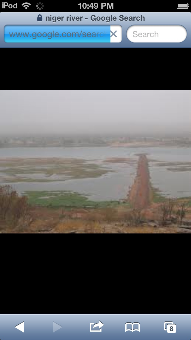 This is the Niger River, In Benin