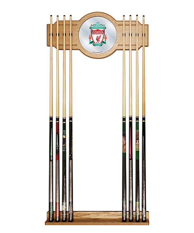 Look at this #zulilyfind! Liverpool Pool Cue Rack Set by Trademark Global #zulilyfinds
