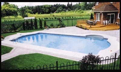 Inground pool.....doesn't have to be spectacular, just a POOL!