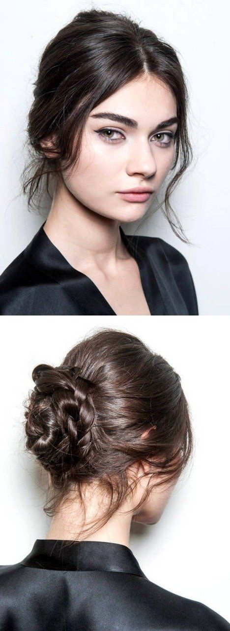 The Hottest Hairstyles For Fall/ Winter 2014-15 (Antonina Vasylchenko for Dolce and Gabbana) | Harper's Bazaar