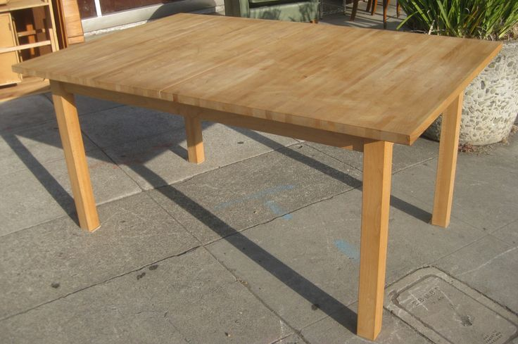 17 best ideas about butcher block dining table on
