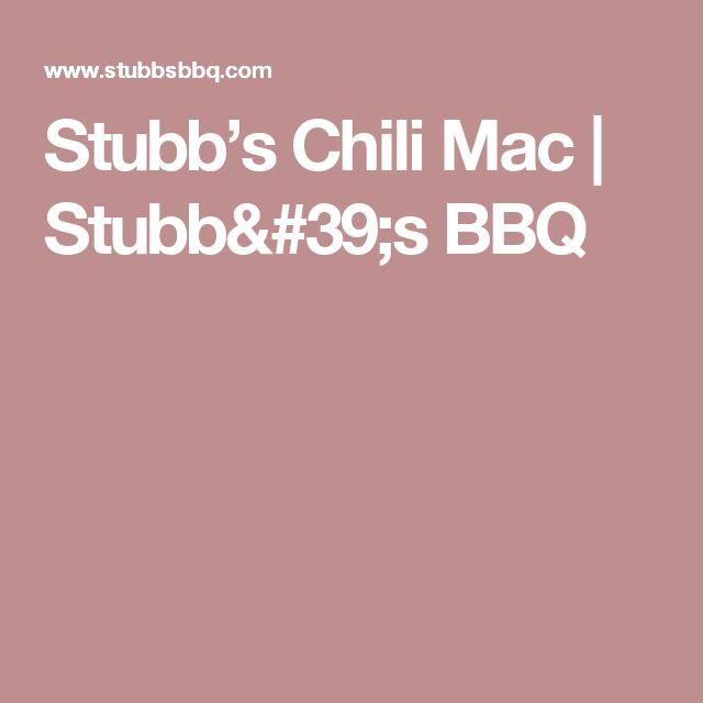 Stubb's Chili Mac | Stubb's BBQ