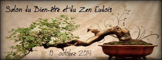 Le premier salon du Bien-être et du Zen Eudois, organisé par l'espace bien-être Natha Yoga, le dimanche 19 octobre 2014 à la salle Michel Audiard de EU (76 260). De nombreux exposants, dont Douce Arôme, une entrée gratuite, une tombola… venez assister à cet évènement  durant lequel conférences et démonstrations vous seront offertes. Plus d'information sur le site de l'évènement (http://www.salondubienetreetduzeneudois.fr) ou sur les pages facebook de l'évènement.   A bientôt !