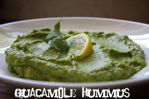 Guacamole hummus... I love them separately and I am sure I will love them together.