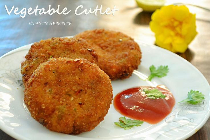 VEGETABLE CUTLET RECIPE - HOW TO MAKE VEGETABLE CUTLET / STEP-BY-STEP RECIPE / KIDS FRIENDLY SNACKS | Tasty Appetite