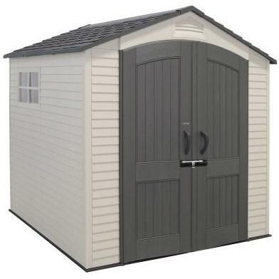 LIFETIME 7 X 7 FT OUTDOOR STORAGE SHED WITH 2 WINDOWS