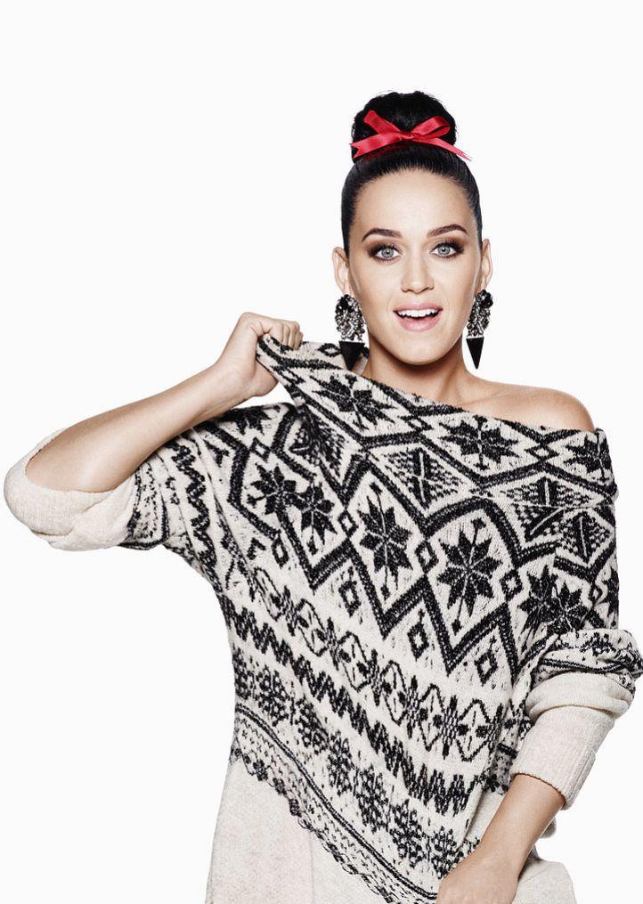 Sweet sweater, Katy!