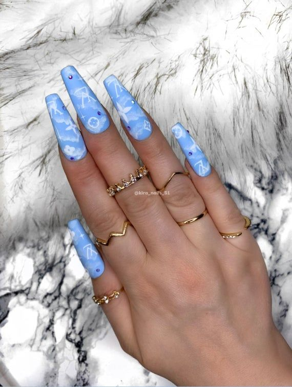On Foto Length From 25mm And Form 3 Indicate When Ordering Phone Number Form Number Siz In 2020 Long Acrylic Nail Designs Acrylic Nails Gel Nails