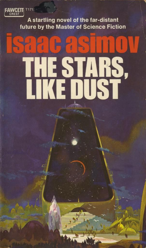 38 best vintage sci fi book covers images on pinterest book covers one of my favorite book covers ever jsw the stars like dust art by paul lehr fandeluxe Image collections