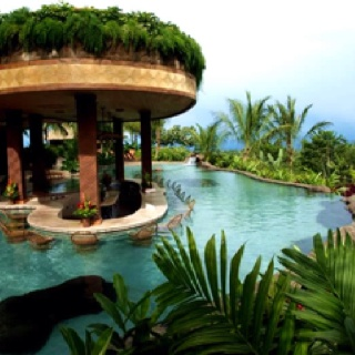 Tropical: Wet Bar, Favorite Places, Swim Pools, Pools Bar, Spring Resorts, Costa Rica, Drinks Bar, Outdoor Area, Outdoor Spaces