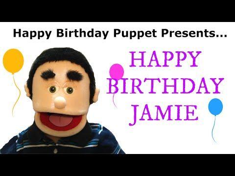 Happy Birthday Jamie - Funny Birthday Song - YouTube