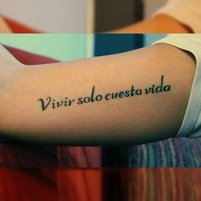 29 best tatouage phrases en espagnol images on pinterest for Tattoo in spanish