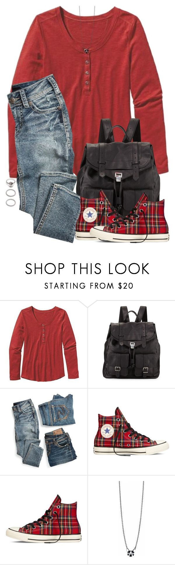 """""""Ron Weasley Inspired Soccer Game Outfit"""" by hpstyle ❤ liked on Polyvore featuring Patagonia, Proenza Schouler, maurices, Converse, Vinca and Forever 21"""