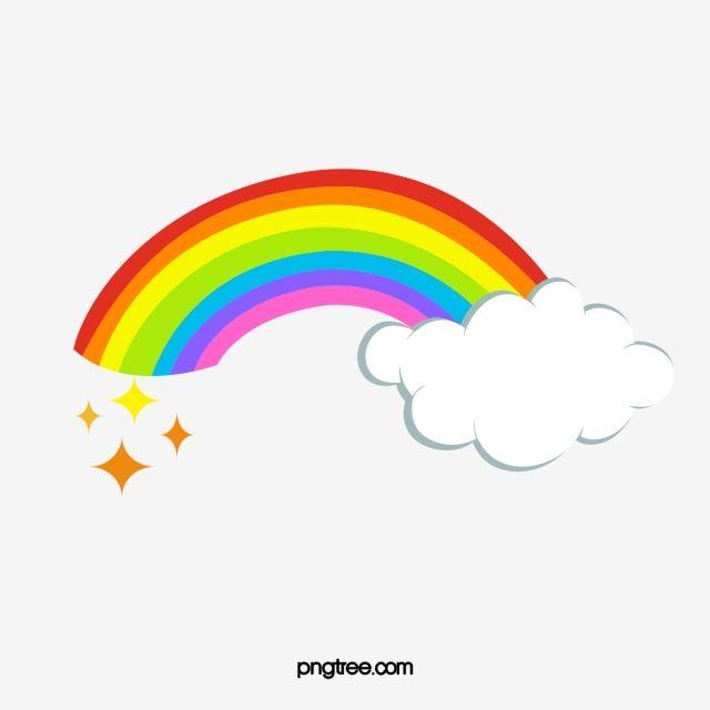 Cartoon Cute Clouds Rainbow Cartoon Clipart Cute Clipart Ly Png