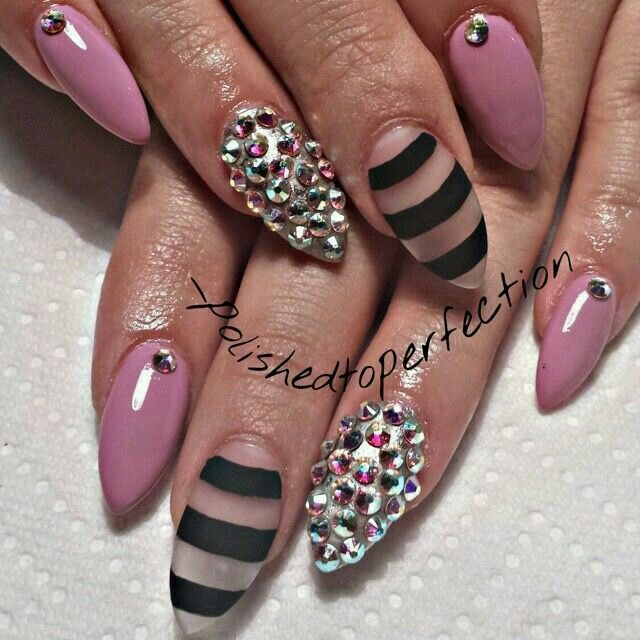 Pointy Nail Designs Summer : Images about summer nail art on
