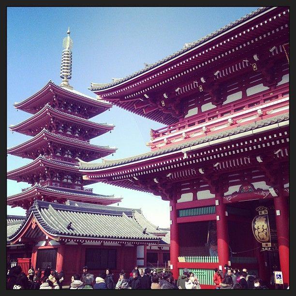 金龍山 浅草寺 (Sensō-ji Temple) in 東京, 東京都
