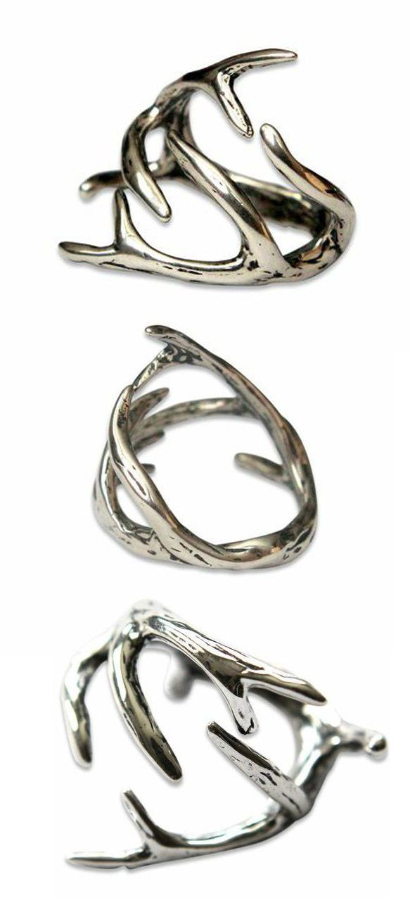 Brian should buy me this because I have killed the deer with the most points.......ANTLER RING