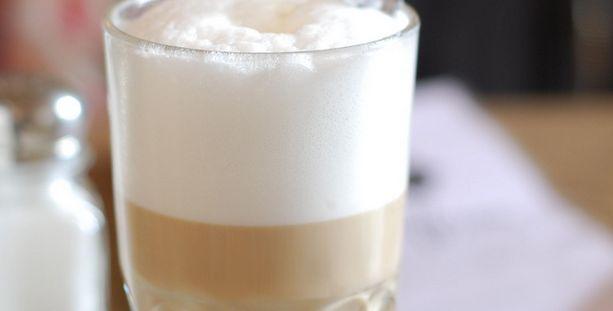 Een heerlijke koffie verkeerd!