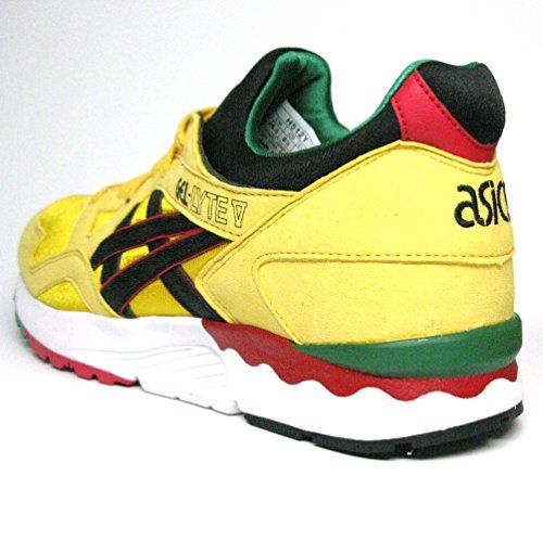 Gel Lyte V Mens (Rasta Pack) in Yellow/Black by Asics