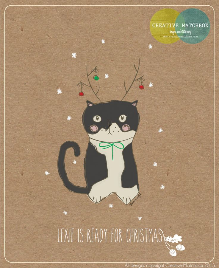 Lexie is ready for Christmas! - with Creative Matchbox