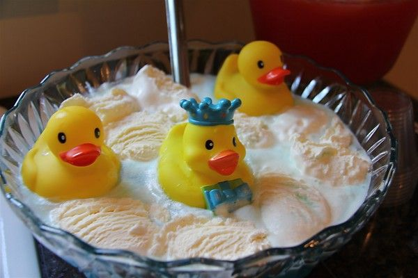 Chasing Cheerios: Rubber Ducky Baby Shower Punch