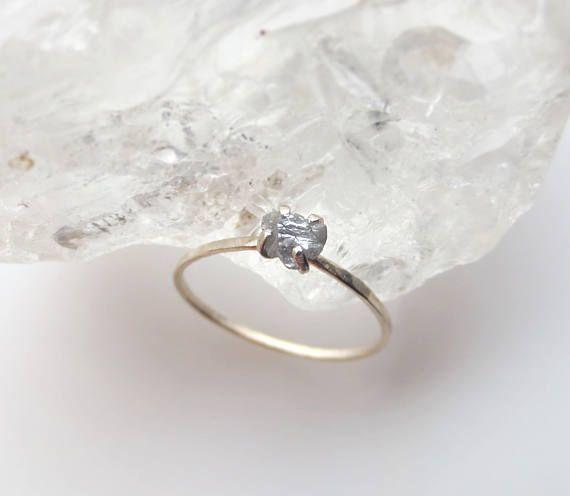 Raw Diamond Engagement Ring Rough Diamond Engagement Ring Raw   casamento  da aquariana   Pinterest   Casamento aca98c32f0