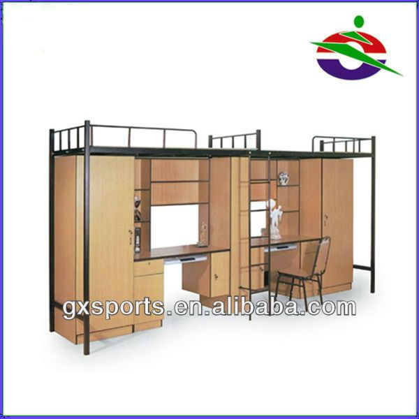 Bunk Bed With Desk And Wardrobe Woodworking Projects Amp Plans