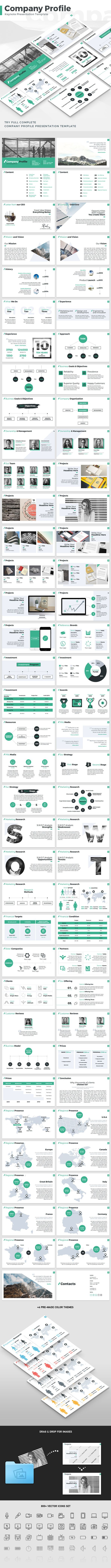 Company Profile - Keynote Presentation Template