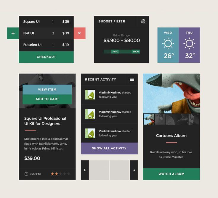Square UI Kit