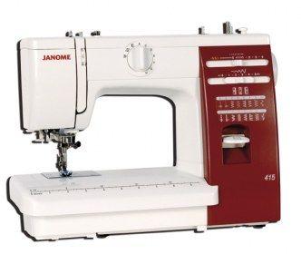 Macchina per cucire Janome 415 - Meccanica con crochet oscillante corpo in alluminio.