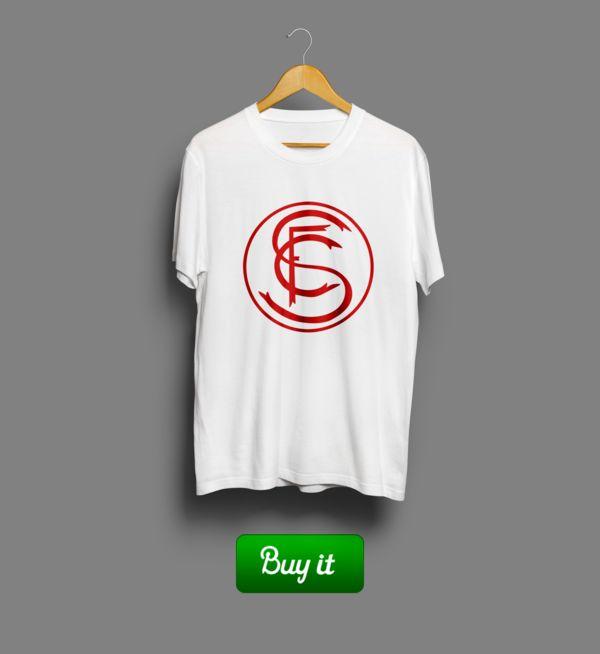 Севилья лого | #ФК #Севилья #Sevillistas #Football #Club #футбол #футболка #tshirt  #Sevilla