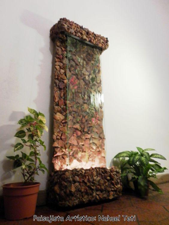 16 best muros de agua images on pinterest fonts water - Fuentes de agua para jardin ...