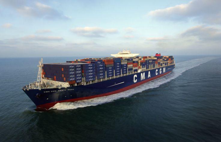 Ships Container ship CMA CGM Corte Real