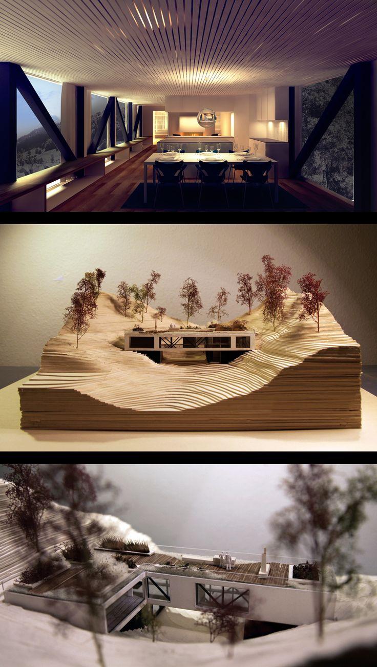 www.vt-a.com  Villa Moi by Valrygg & Trodahl Architect,   Under Construction Oct 2012