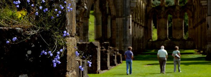 Rievaulx Abbey in North Yorks