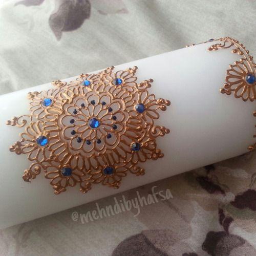 diy henna candle - Bing images
