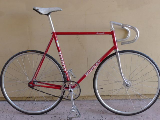 1984 Murray Serotta Us Olympic Track Bicycle Two Wheels